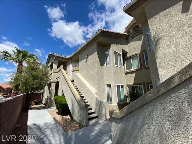 6156 Pine Villa #101, Las Vegas, NV 89108 (MLS #2192403) :: Billy OKeefe   Berkshire Hathaway HomeServices