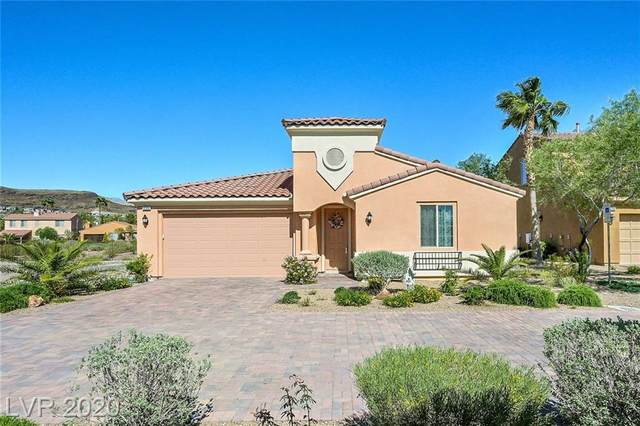 1286 Calcione Drive, Henderson, NV 89011 (MLS #2192966) :: The Lindstrom Group