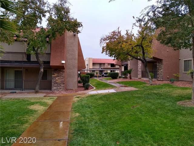 5061 River Glen Drive #75, Las Vegas, NV 89103 (MLS #2197029) :: Billy OKeefe | Berkshire Hathaway HomeServices