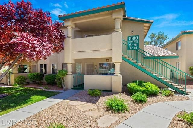 7600 Cromberg #201, Las Vegas, NV 89145 (MLS #2198077) :: Billy OKeefe   Berkshire Hathaway HomeServices