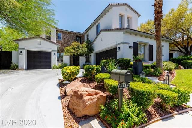 2484 Mapleberry, Las Vegas, NV 89135 (MLS #2198239) :: Signature Real Estate Group