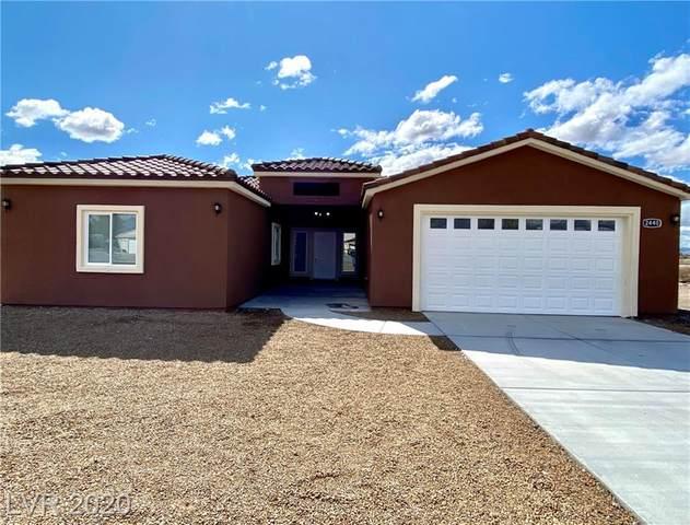 2440 Yakima, Pahrump, NV 89048 (MLS #2199016) :: Helen Riley Group | Simply Vegas