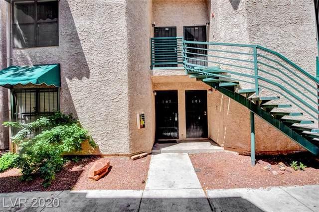 510 Elm #105, Las Vegas, NV 89169 (MLS #2199289) :: Signature Real Estate Group