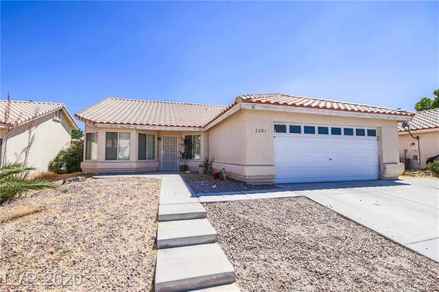 2201 Twisted Oak Avenue, North Las Vegas, NV 89032 (MLS #2199342) :: The Lindstrom Group