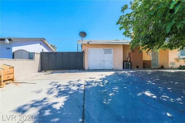 2312 E Kirk Avenue, Las Vegas, NV 89101 (MLS #2199544) :: Signature Real Estate Group