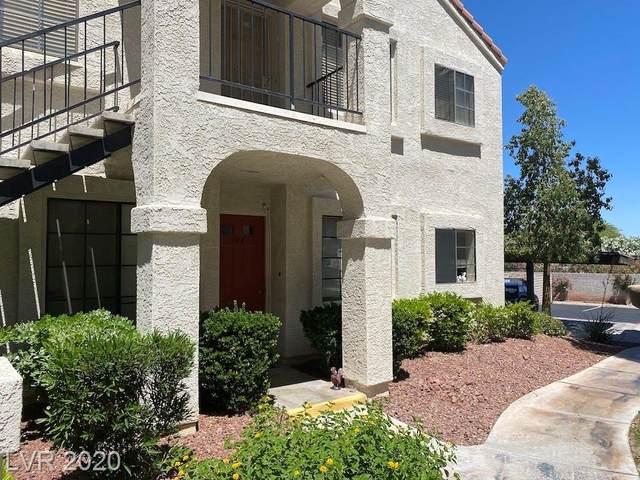 4706 Nara Vista #104, Las Vegas, NV 89103 (MLS #2199648) :: Hebert Group | Realty One Group