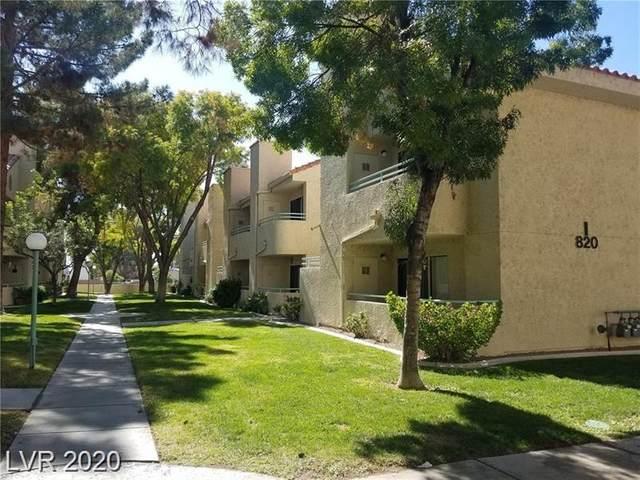 820 Sloan #206, Las Vegas, NV 89110 (MLS #2199693) :: Signature Real Estate Group