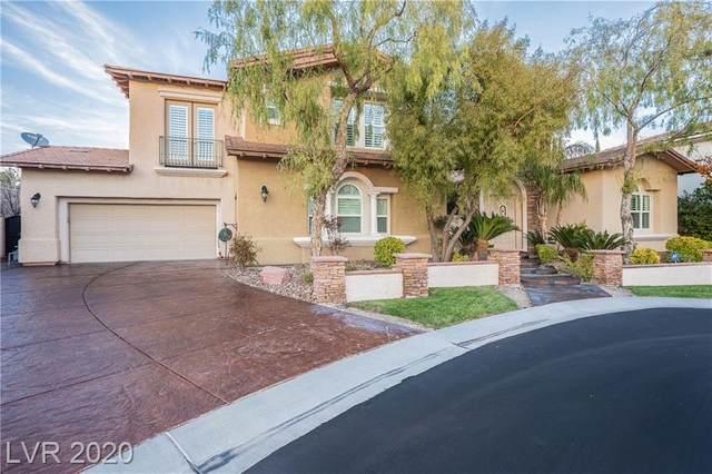 11558 Trevi Fountain Avenue, Las Vegas, NV 89138 (MLS #2199772) :: Performance Realty