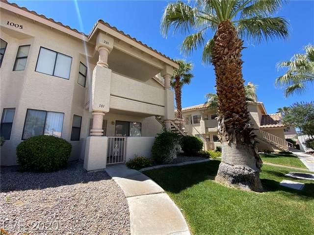 1005 Falconhead #101, Las Vegas, NV 89128 (MLS #2200015) :: Billy OKeefe   Berkshire Hathaway HomeServices
