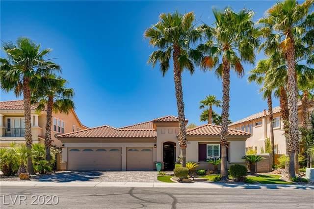 2681 Botticelli Drive, Henderson, NV 89052 (MLS #2200321) :: Signature Real Estate Group