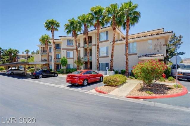 7111 Durango Drive #207, Las Vegas, NV 89148 (MLS #2200488) :: The Shear Team