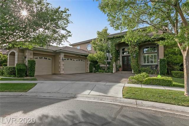9300 Provence Garden Lane, Las Vegas, NV 89145 (MLS #2200620) :: Jeffrey Sabel