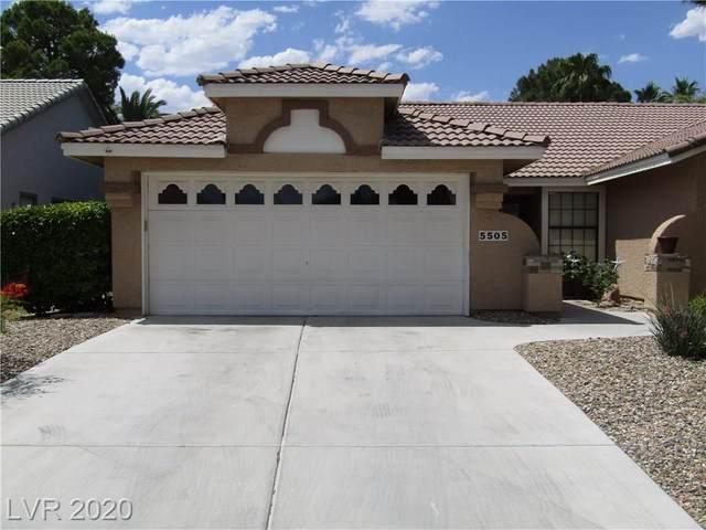 5505 Singing Hills, Las Vegas, NV 89130 (MLS #2200982) :: Hebert Group | Realty One Group
