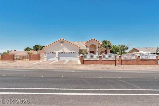 416 N Racetrack Road, Henderson, NV 89015 (MLS #2201023) :: Signature Real Estate Group