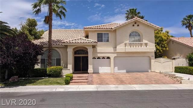 7520 Cobal Canyon, Las Vegas, NV 89129 (MLS #2201158) :: The Shear Team