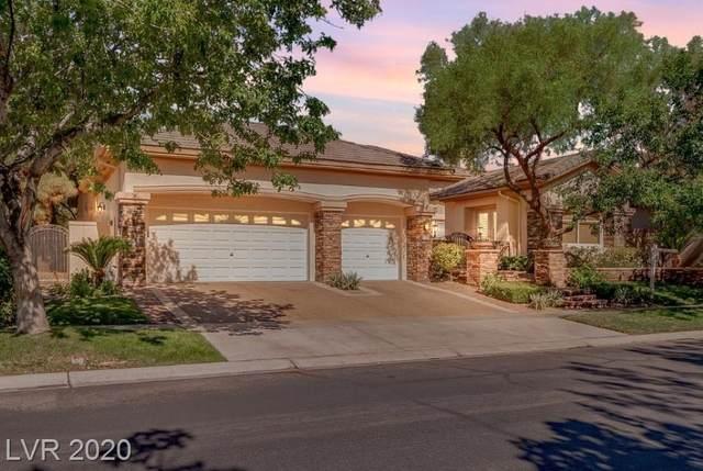 809 Ville Franche Street, Las Vegas, NV 89145 (MLS #2202015) :: Jeffrey Sabel