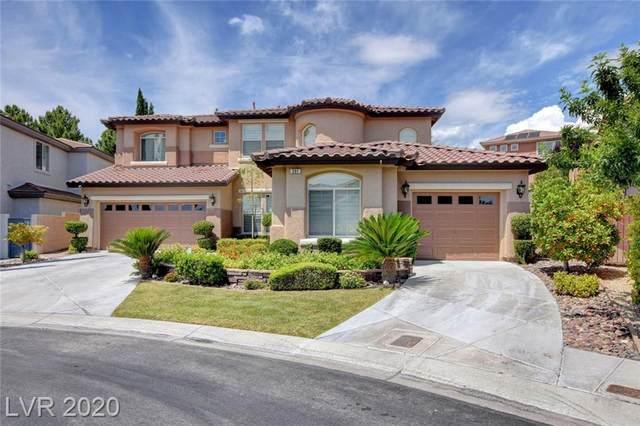 391 Las Lanzas Street, Las Vegas, NV 89138 (MLS #2202470) :: Hebert Group | Realty One Group