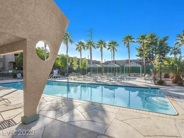 5493 Indian River Drive #379, Las Vegas, NV 89103 (MLS #2202494) :: The Shear Team