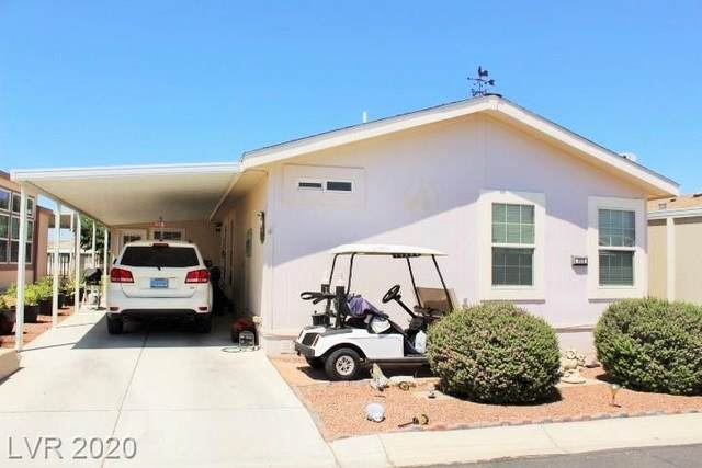 320 S Brentwood Drive, Pahrump, NV 89048 (MLS #2202517) :: Hebert Group   Realty One Group