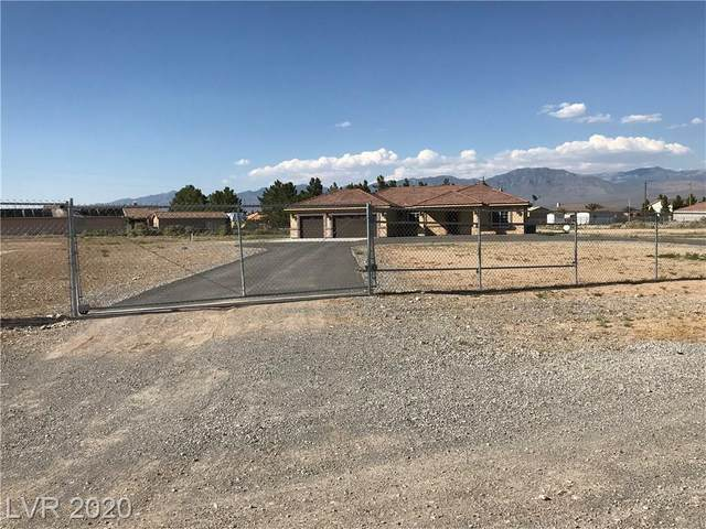 1800 W Justine Court, Pahrump, NV 89048 (MLS #2202537) :: Hebert Group   Realty One Group