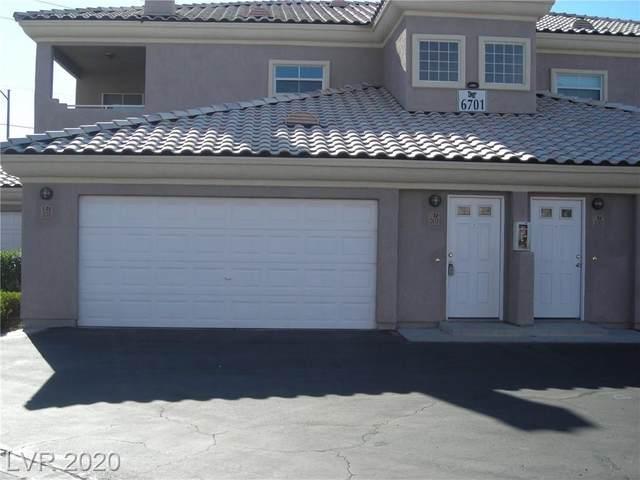 6701 Cobre Azul #201, Las Vegas, NV 89108 (MLS #2202766) :: Hebert Group | Realty One Group