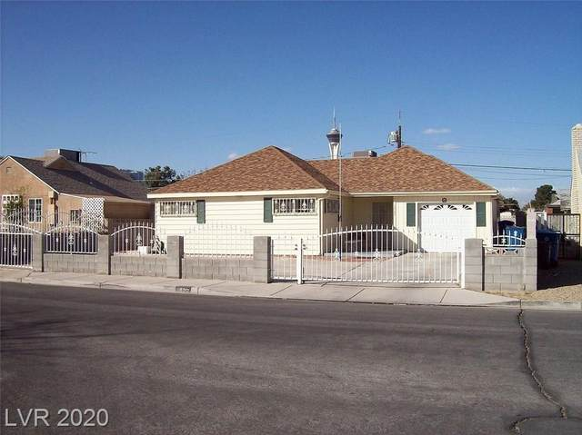 1600 13th Street, Las Vegas, NV 89104 (MLS #2203073) :: The Lindstrom Group