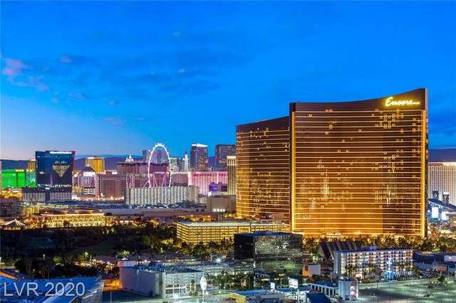 2747 Paradise Road #3301, Las Vegas, NV 89109 (MLS #2203738) :: The Perna Group