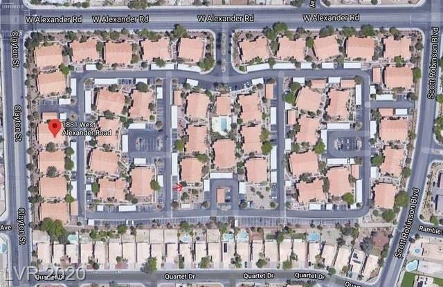 1881 Alexander #1066, North Las Vegas, NV 89032 (MLS #2204809) :: Hebert Group   Realty One Group