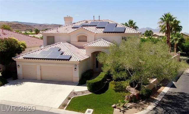 2 Ocean Harbor Lane, Las Vegas, NV 89148 (MLS #2205663) :: Vestuto Realty Group
