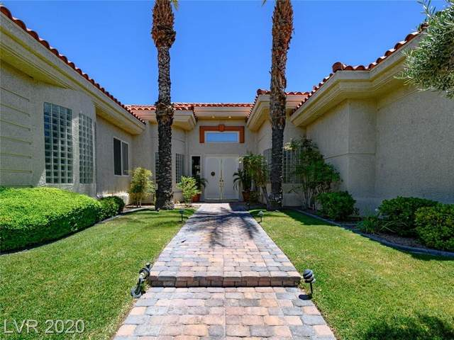 4968 Mountain Foliage Drive, Las Vegas, NV 89148 (MLS #2205932) :: Jeffrey Sabel