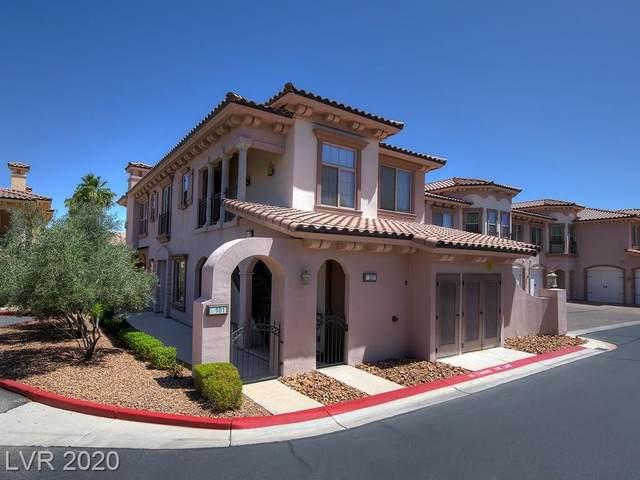 10 Via Vasari #101, Henderson, NV 89011 (MLS #2206503) :: Hebert Group | Realty One Group