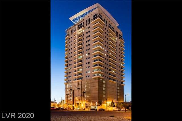 200 Hoover Avenue #1109, Las Vegas, NV 89101 (MLS #2206987) :: Signature Real Estate Group