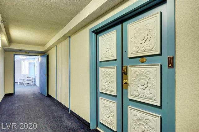 205 Harmon Avenue #406, Las Vegas, NV 89169 (MLS #2207010) :: The Lindstrom Group