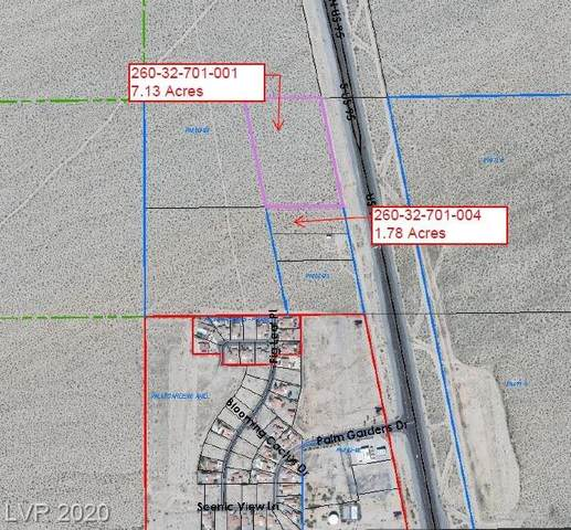 U. S. Highway 95, Palm Gardens, NV 89039 (MLS #2207098) :: Signature Real Estate Group