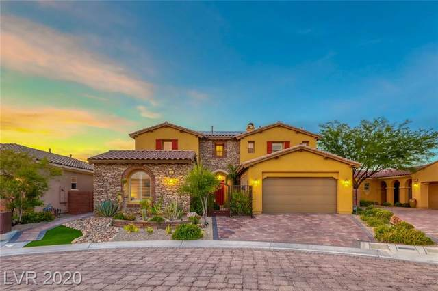 4 Viola Carino Court, Henderson, NV 89011 (MLS #2207246) :: The Lindstrom Group