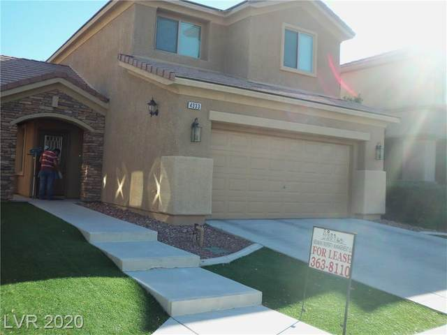 4333 Galapagos Avenue, North Las Vegas, NV 89084 (MLS #2207395) :: The Shear Team