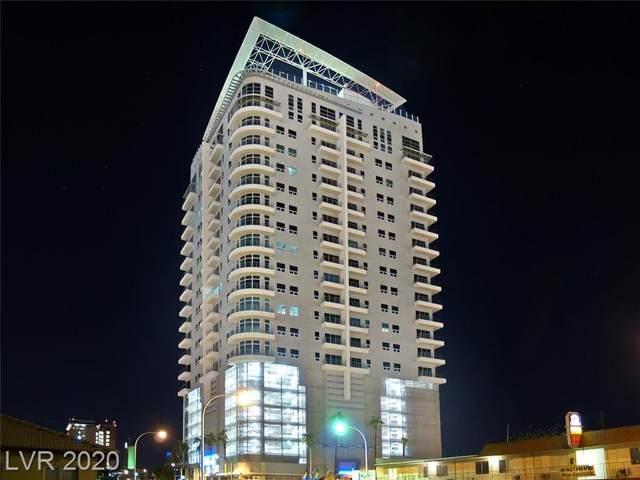 200 Hoover Avenue #2013, Las Vegas, NV 89101 (MLS #2207894) :: Signature Real Estate Group