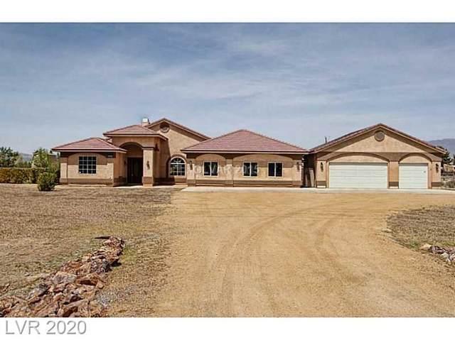 900 E Gamebird Road, Pahrump, NV 89048 (MLS #2208054) :: Signature Real Estate Group