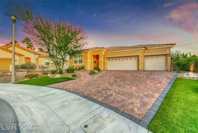 1003 Via Saint Lucia Place, Henderson, NV 89011 (MLS #2208133) :: The Lindstrom Group
