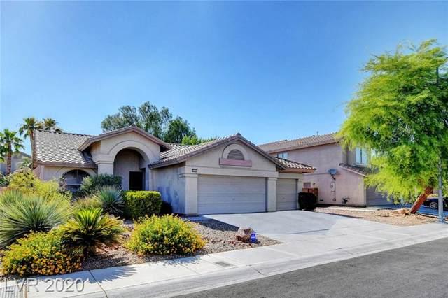 5541 Azure Ridge Drive, Las Vegas, NV 89130 (MLS #2208164) :: The Lindstrom Group