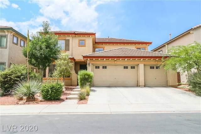 8225 Sawmill Falls Street, North Las Vegas, NV 89085 (MLS #2208799) :: The Lindstrom Group
