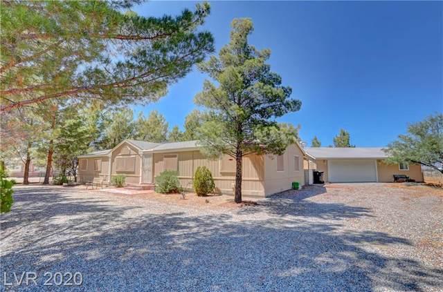 4060 Sally Circle, Pahrump, NV 89048 (MLS #2209058) :: Signature Real Estate Group