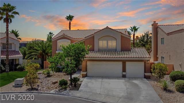 9205 Jadecrest Drive, Las Vegas, NV 89134 (MLS #2209073) :: The Shear Team