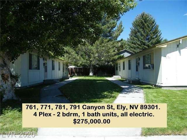 761 Canyon Street, Ely, NV 89301 (MLS #2209245) :: Vestuto Realty Group