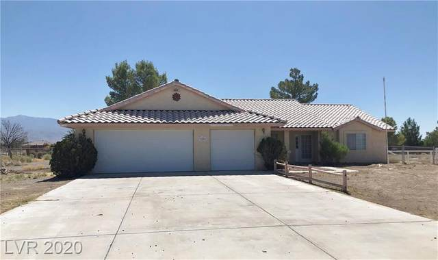 3101 Winchester Avenue, Pahrump, NV 89048 (MLS #2209529) :: Signature Real Estate Group