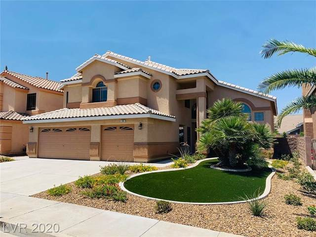 285 Grand Olympia Drive, Henderson, NV 89012 (MLS #2209916) :: Signature Real Estate Group