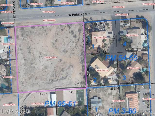 0 W Patrick, Las Vegas, NV 89118 (MLS #2210212) :: The Perna Group