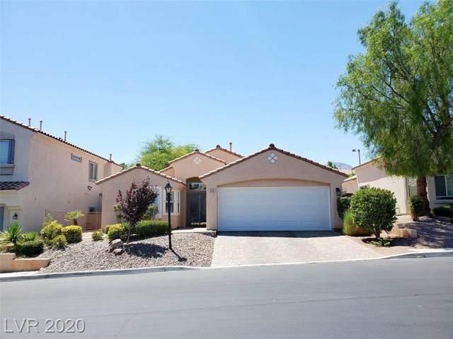465 Annotto Bay Street, Las Vegas, NV 89138 (MLS #2210262) :: Jeffrey Sabel