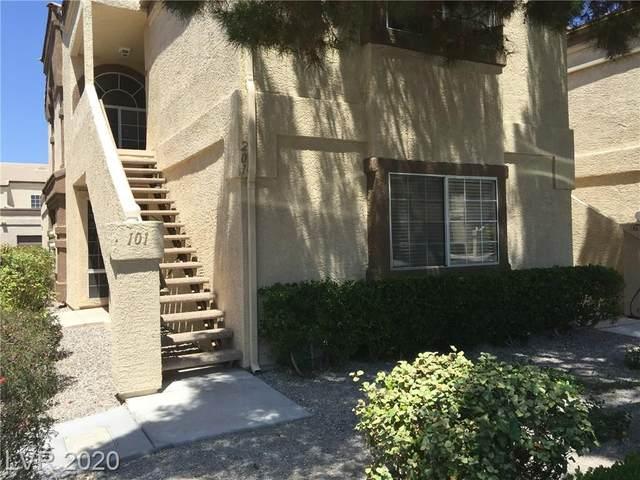 3676 Renovah Street #101, Las Vegas, NV 89129 (MLS #2210268) :: Helen Riley Group   Simply Vegas