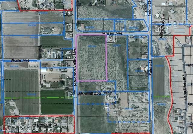 Moapa Valley & Jensen, Logandale, NV 89021 (MLS #2210374) :: Signature Real Estate Group